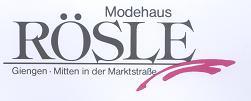 Modehaus Rösle, Inhaber Frau Conny Seifert